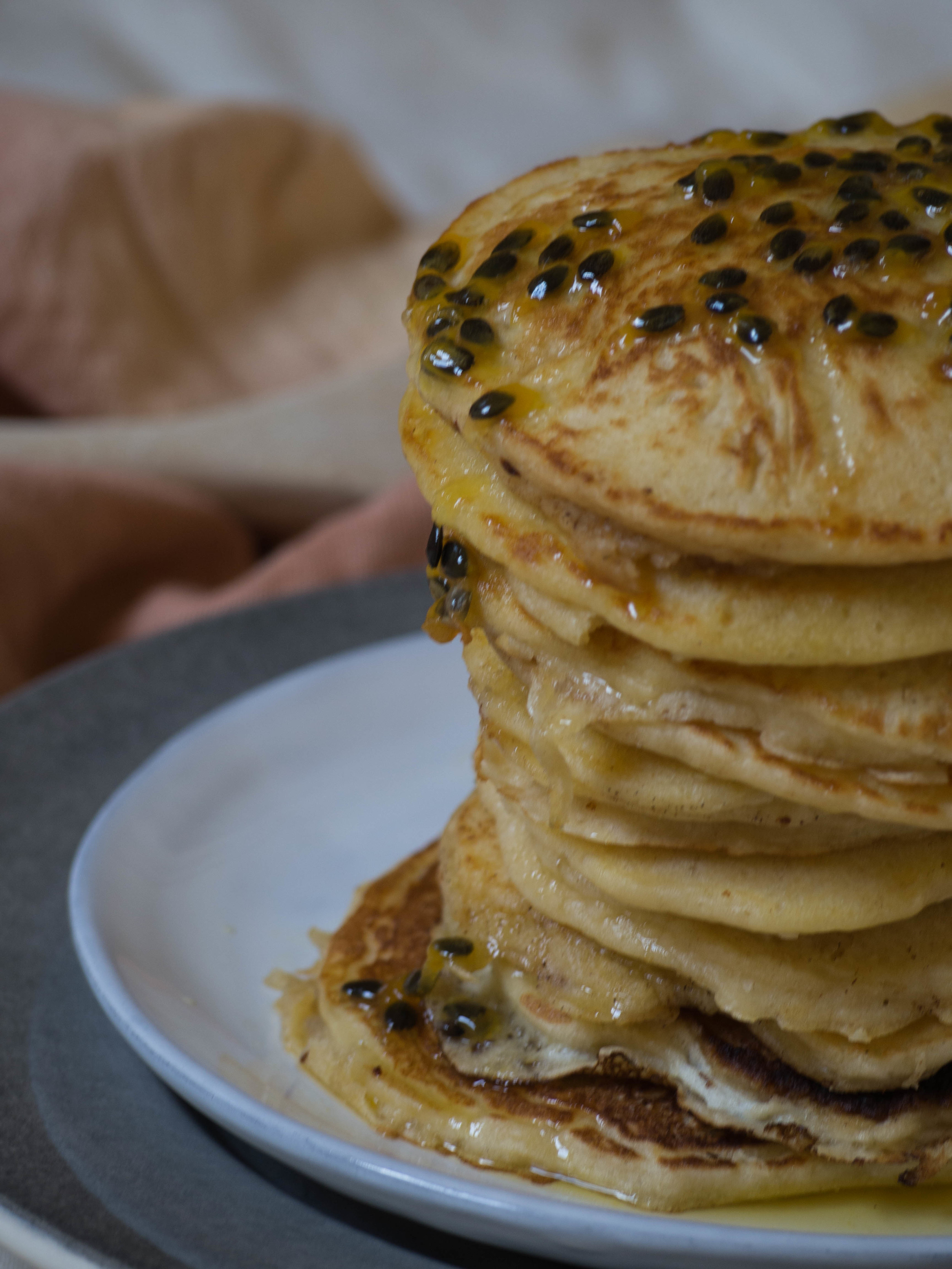 Passionfruit Pancakes 3 - Kulinary Adventures of Kath