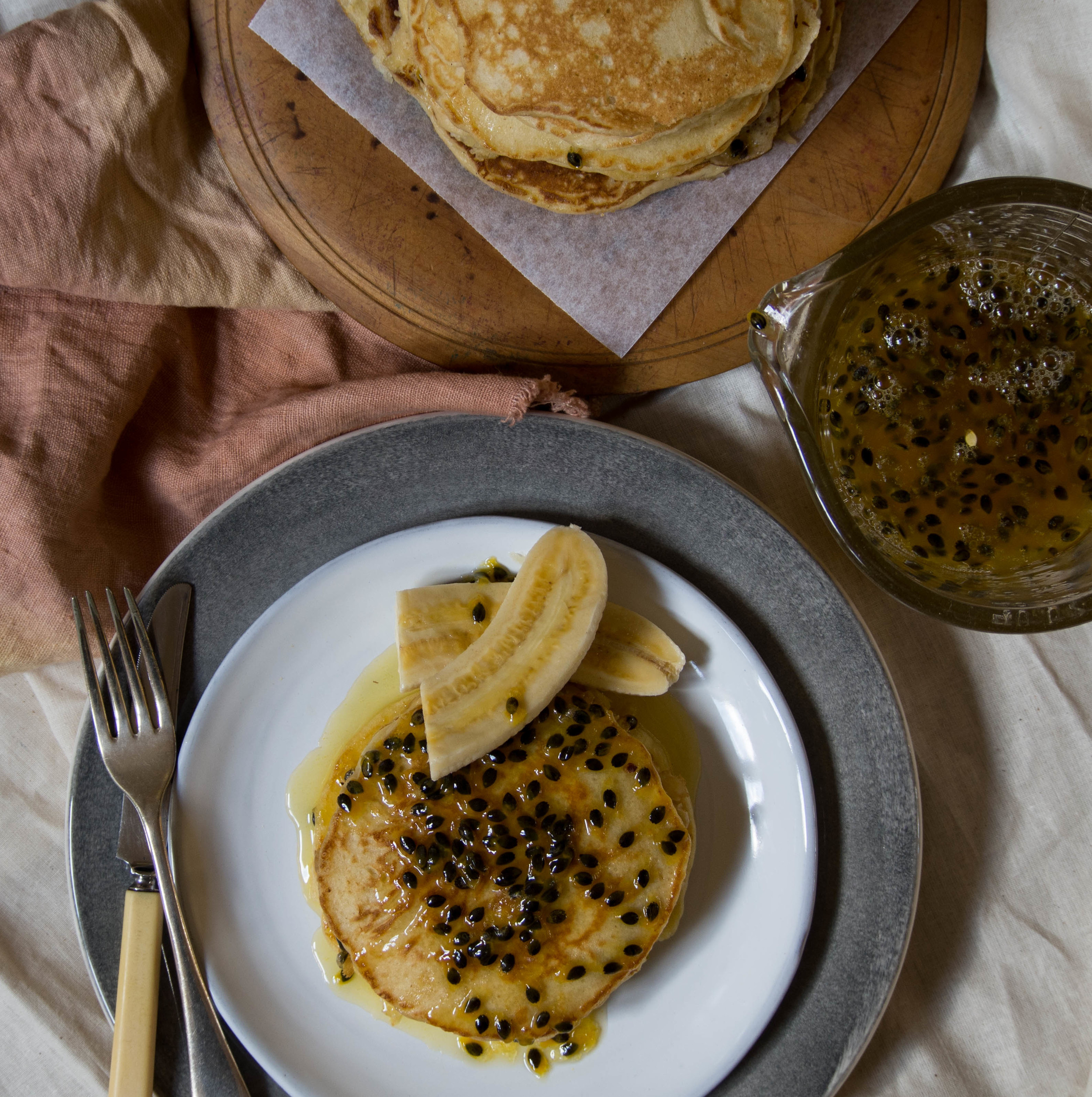Passionfruit Pancakes 5 - Kulinary Adventures of Kath