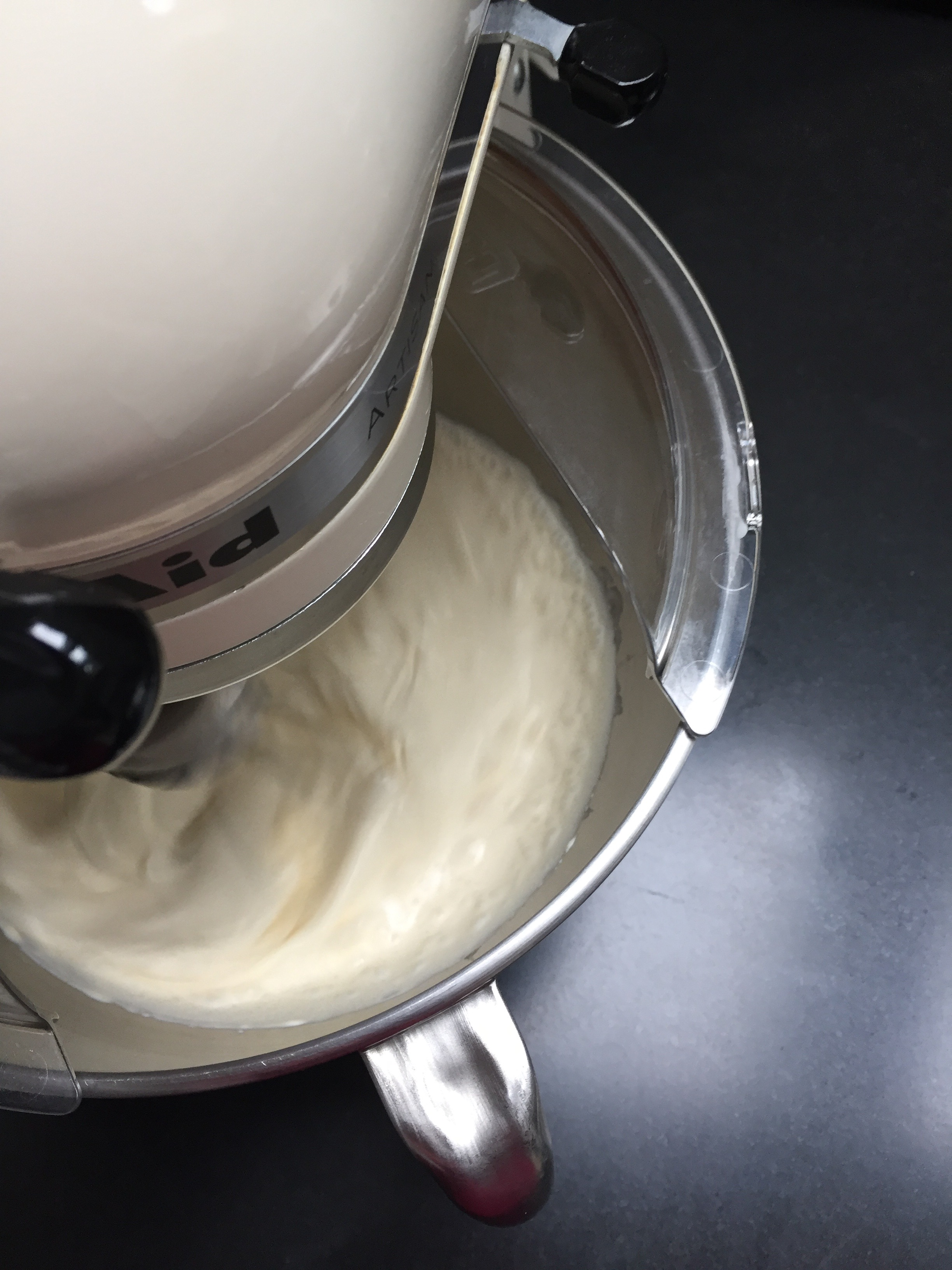 1. Whipping the Cream