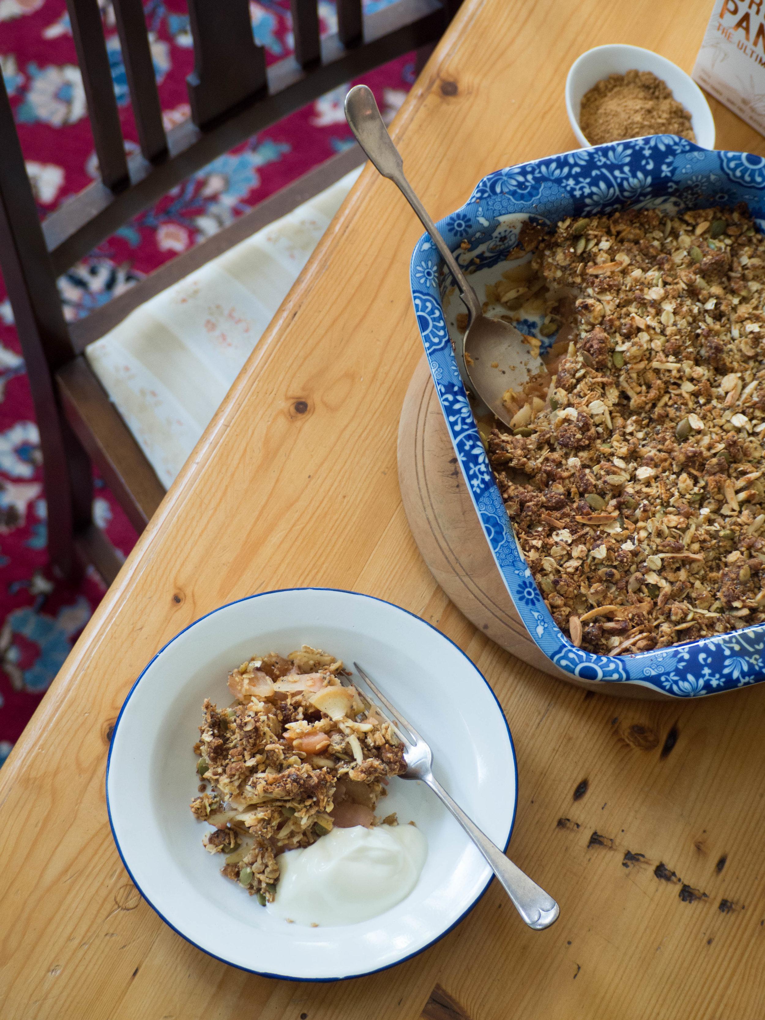Muesli Breakfast Crumble