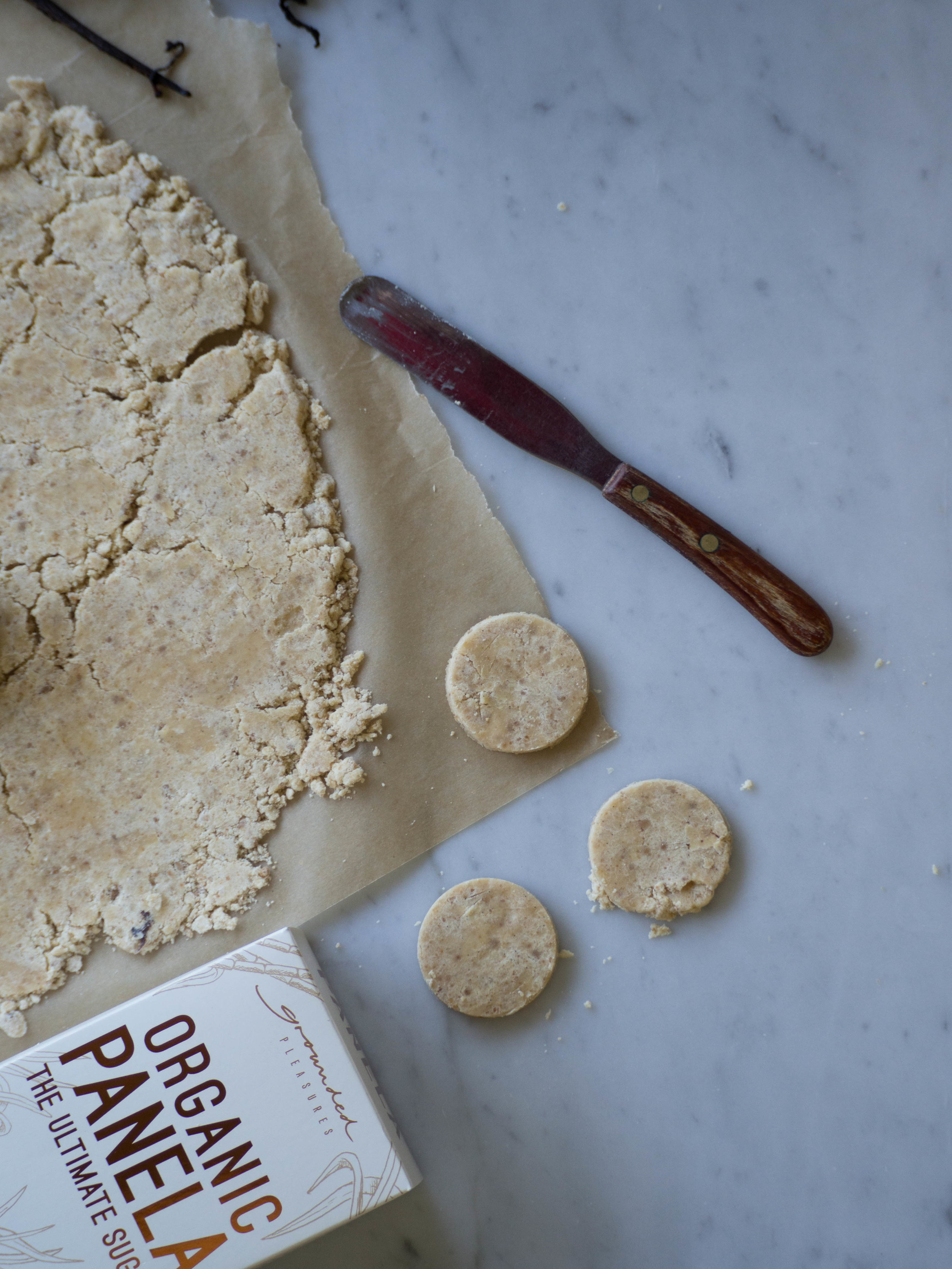 Panela Sugar Shortbread