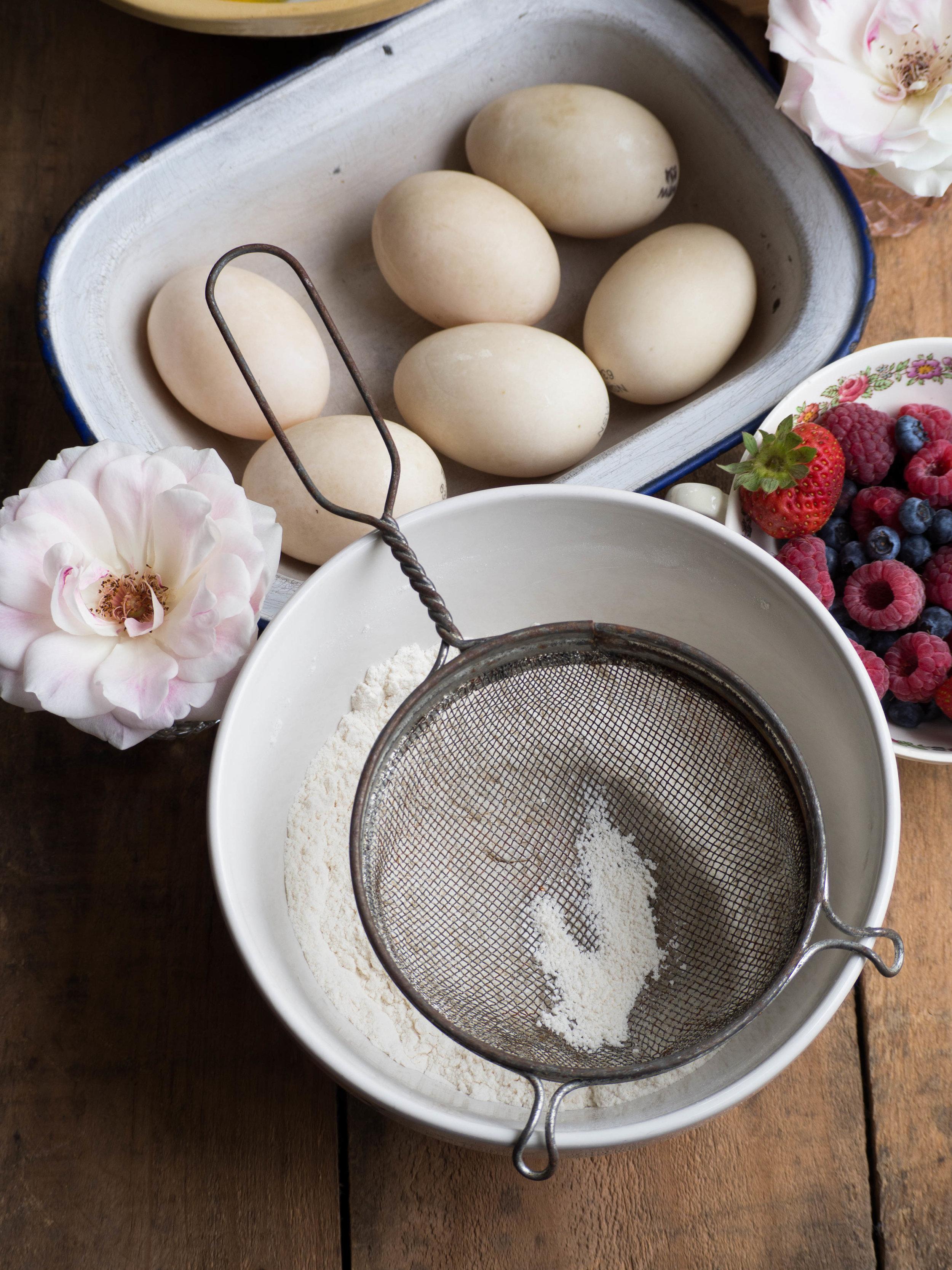 How to Make a Elderflower Chiffon Cake