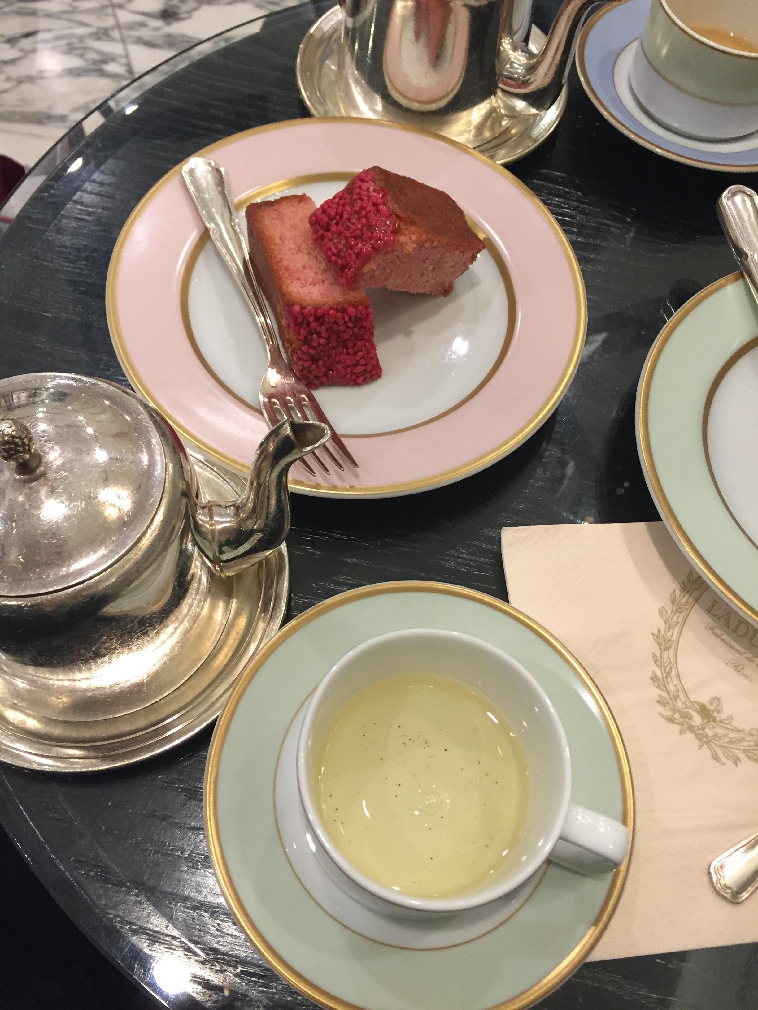 Rose Cake at Ladurée Sydney