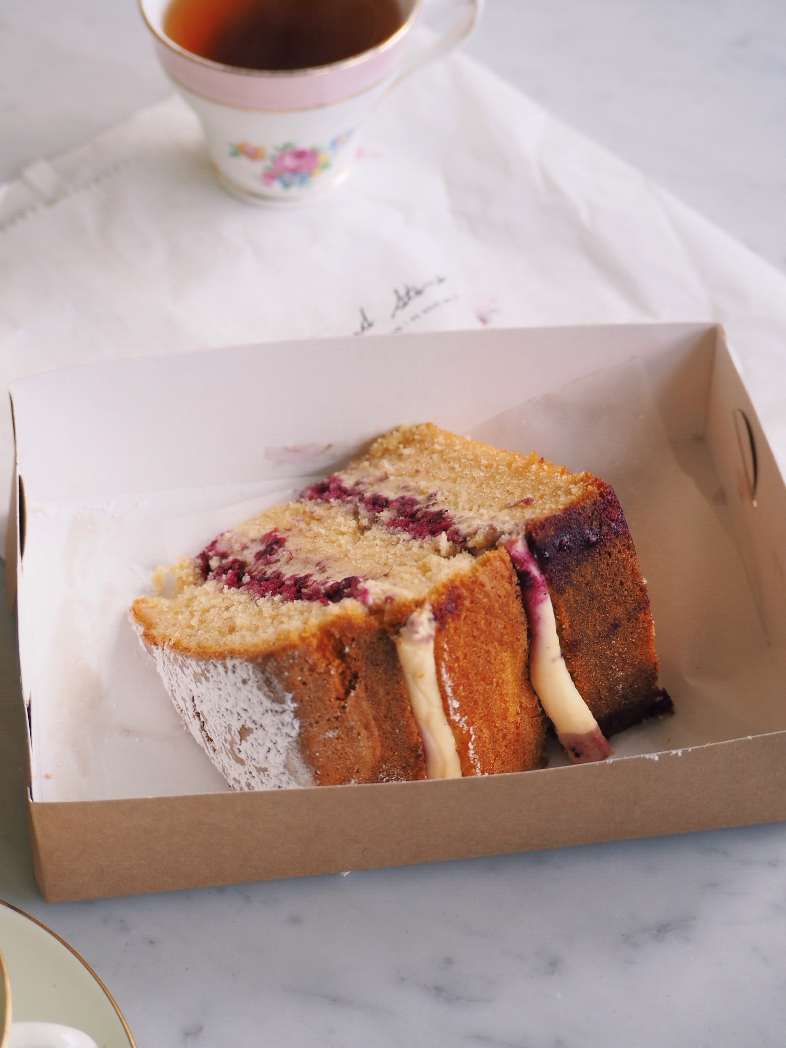 Old Fashioned Vanilla Cake from Flour & Stone