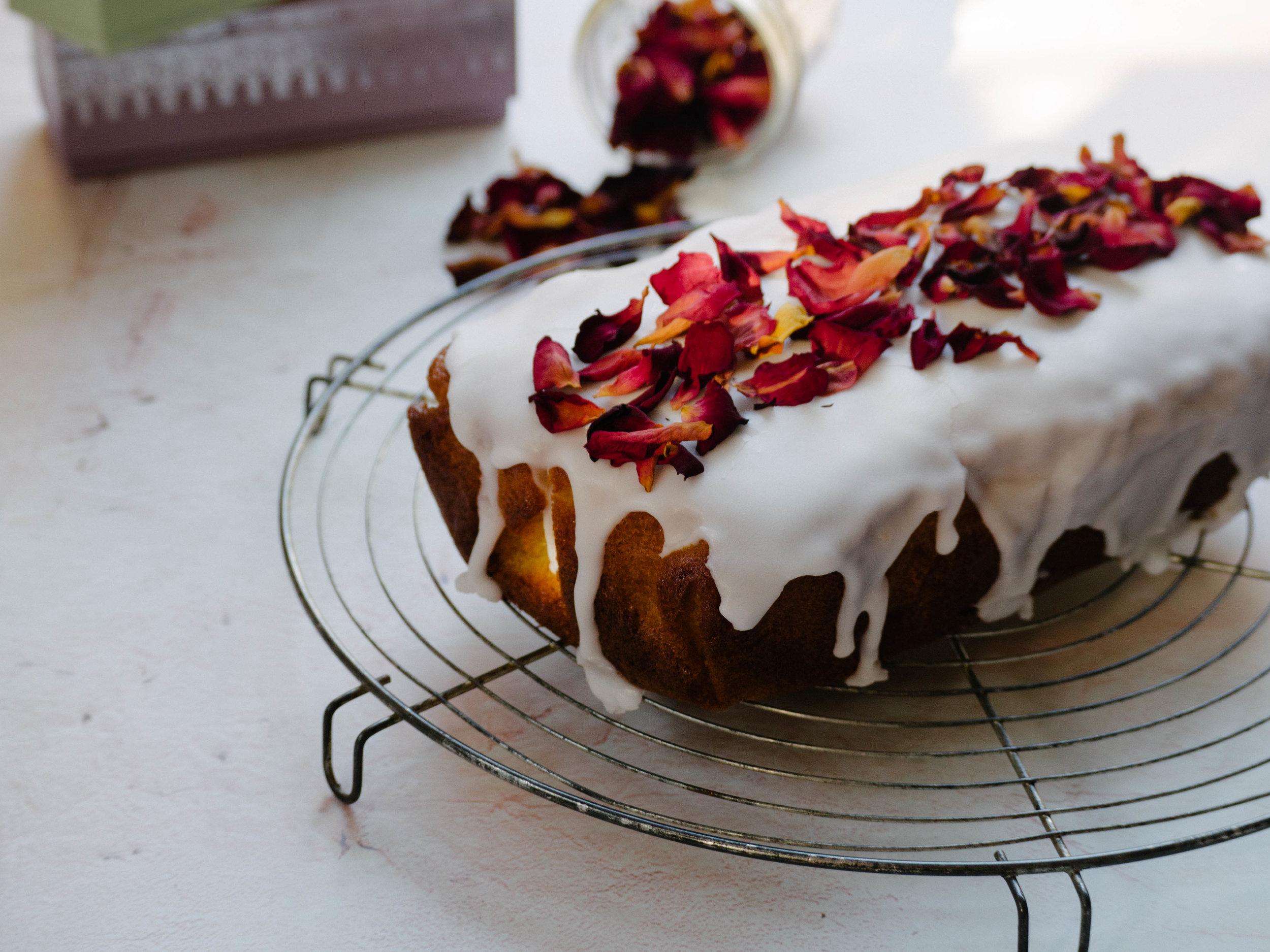 Ladurée Inspired Rose Cake