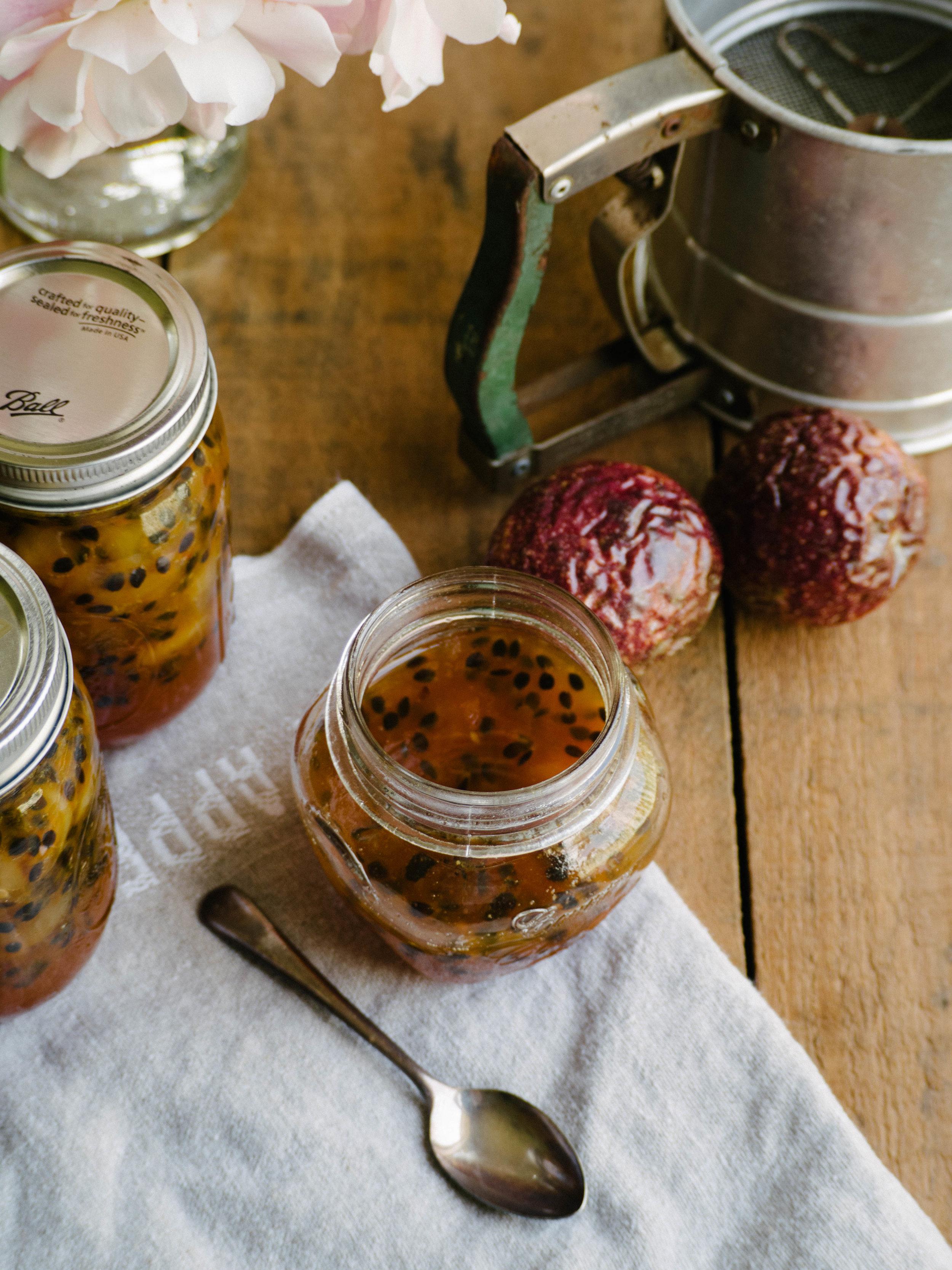 White Peach & Passionfruit Jam
