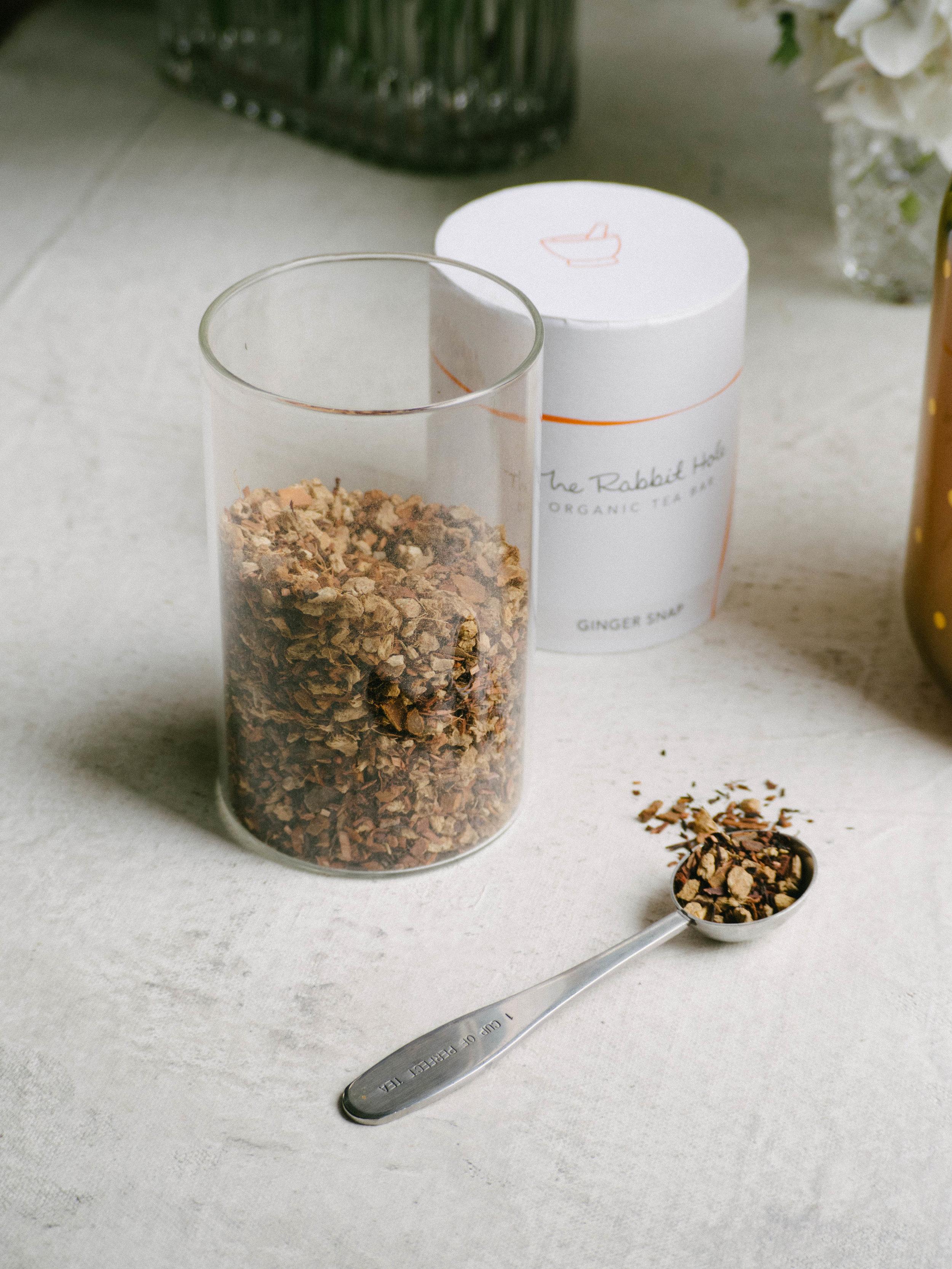 Ginger Snap Tea by The Rabbit Hole Organic Tea Bar