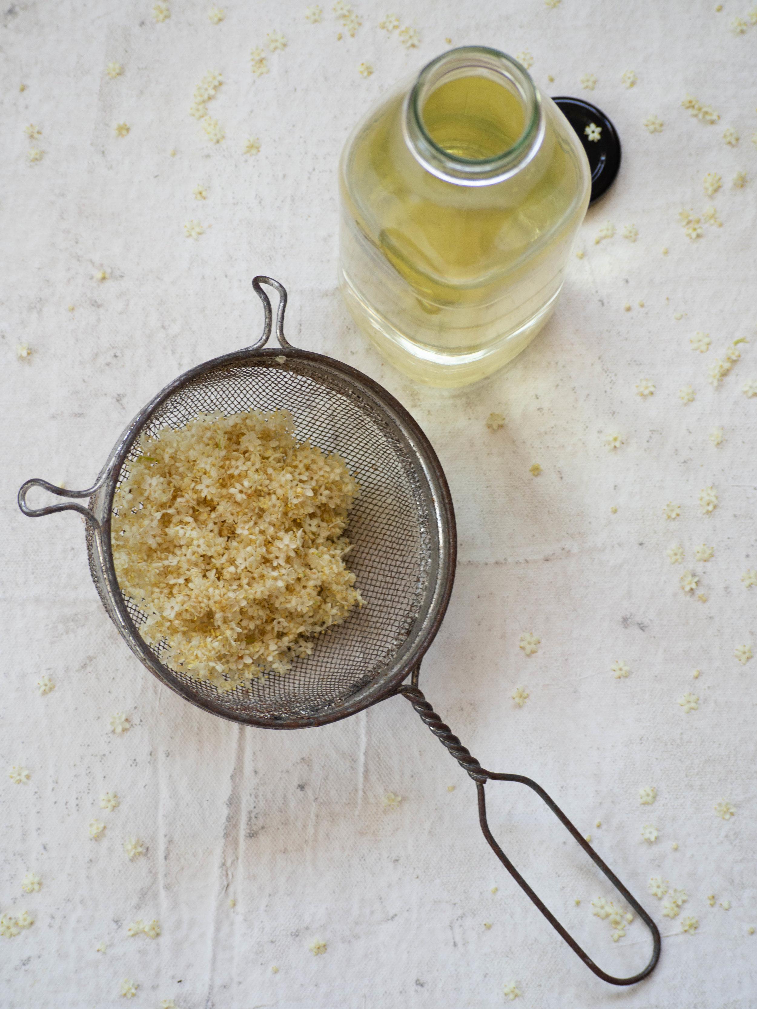 Elderflower Cordial (Recipe Two)