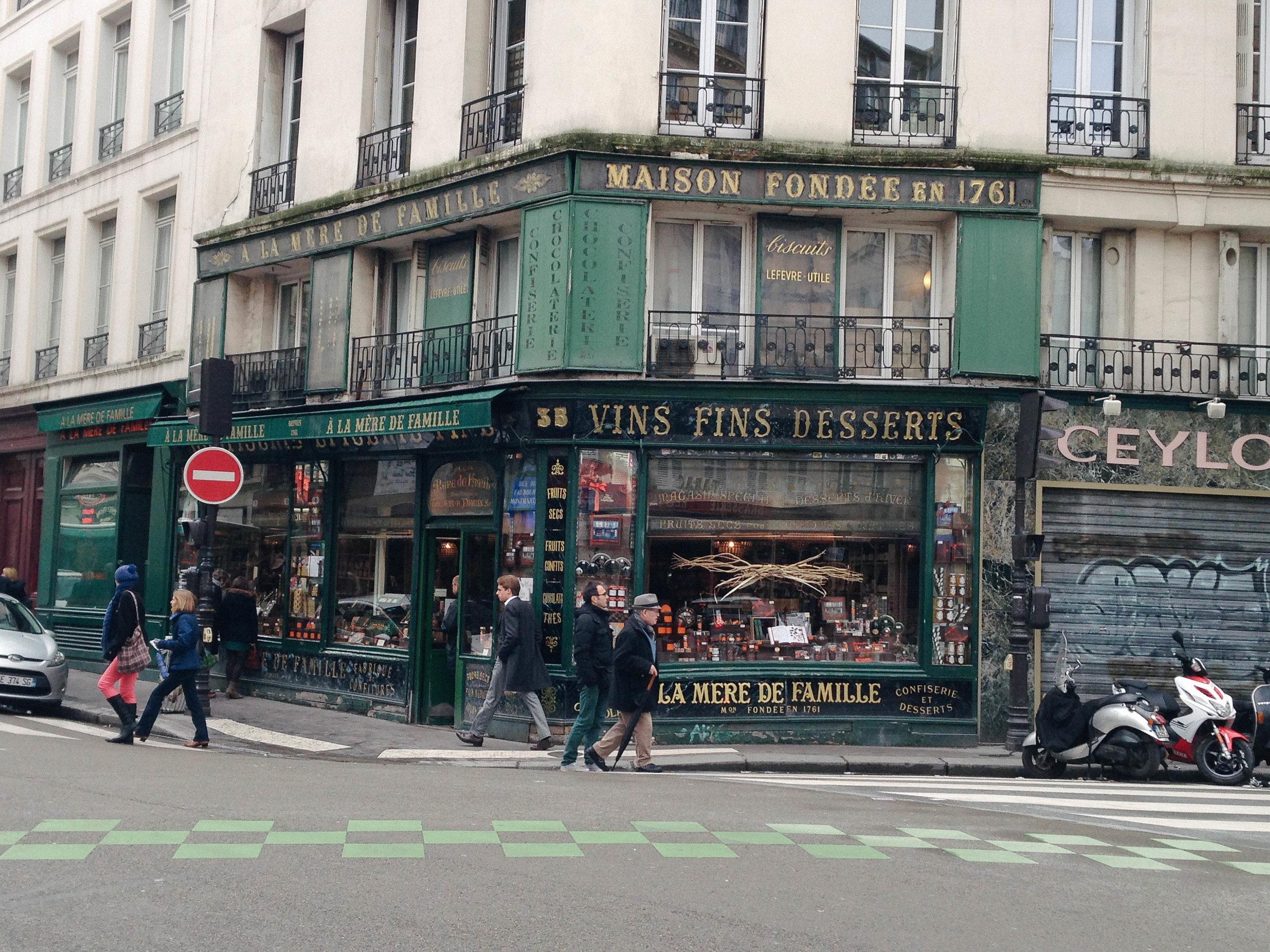 À La Mère de Famille, Paris.