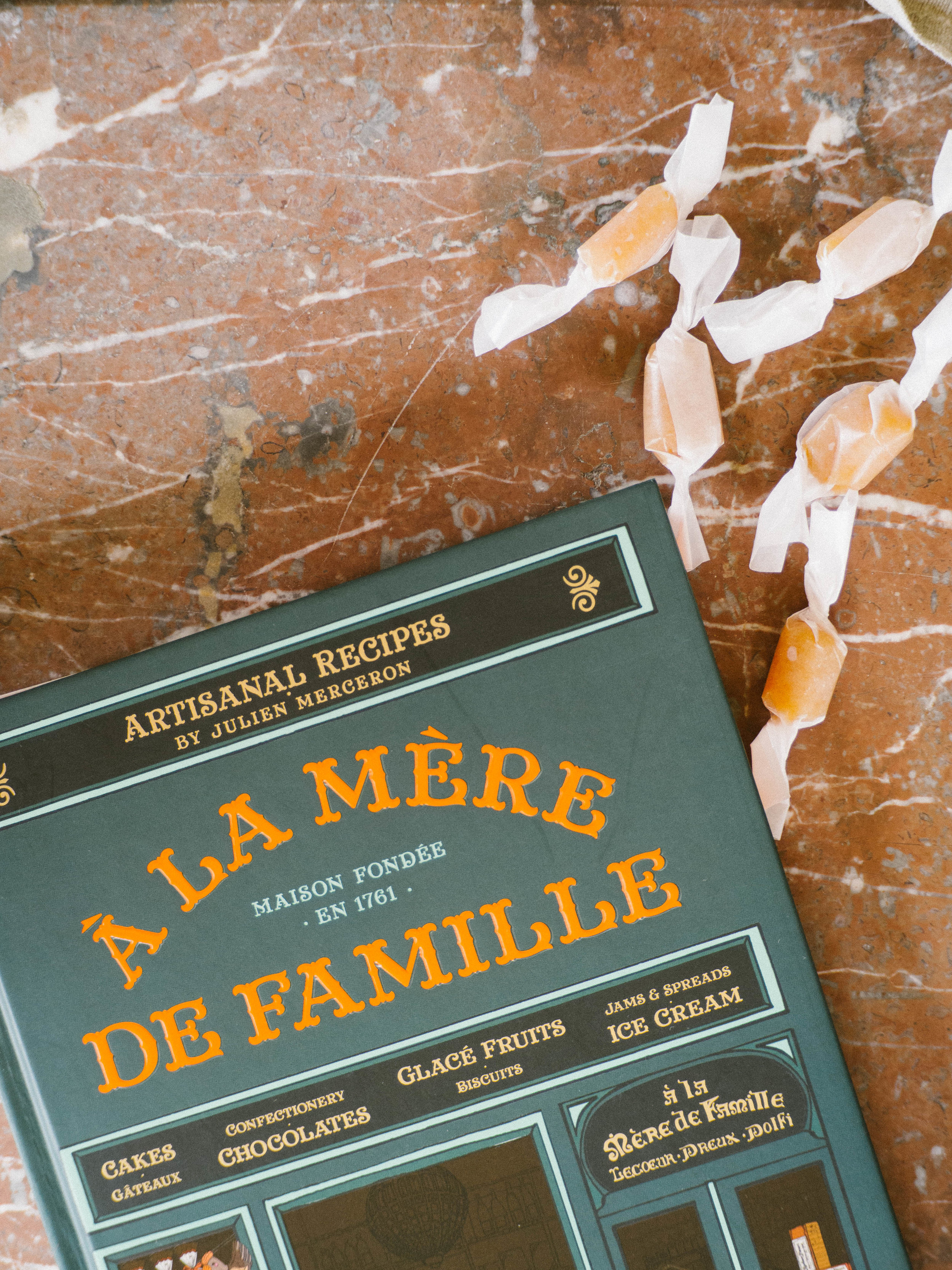 À La Mère de Famille Passionfruit Caramels