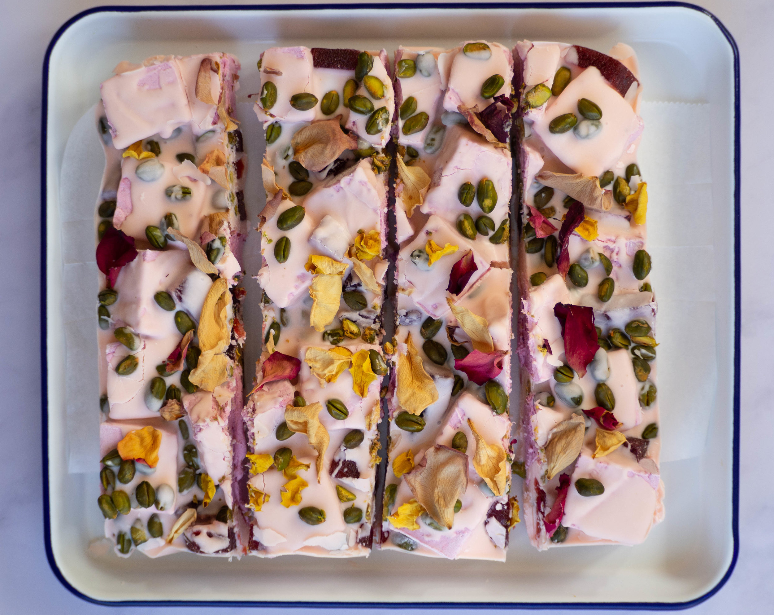 Rose Rocky Road
