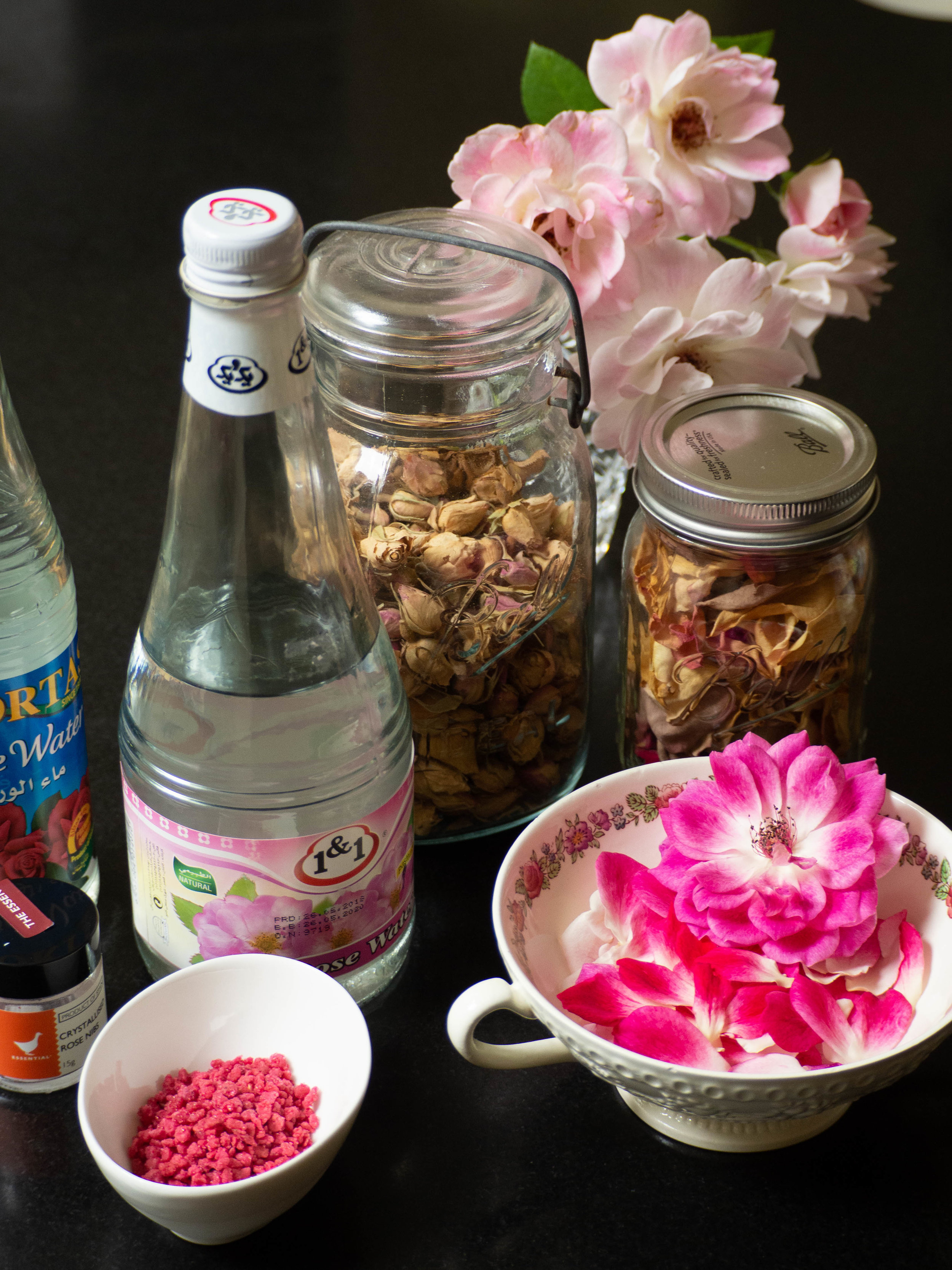 How to Bake with Rosewater