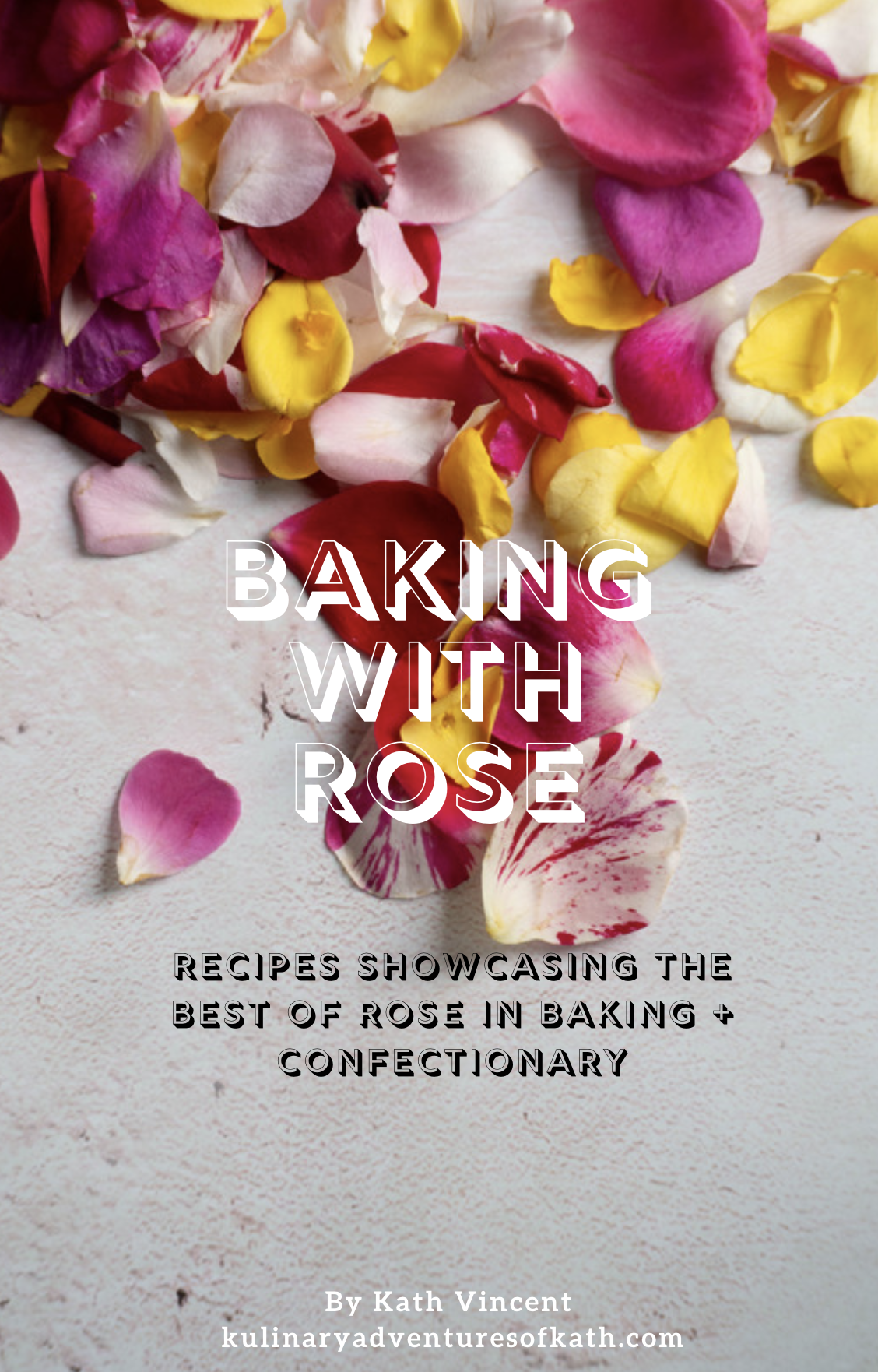 'Baking with Rose' eBook - release date 29/04/2019 - sign up to my mailing list for more information