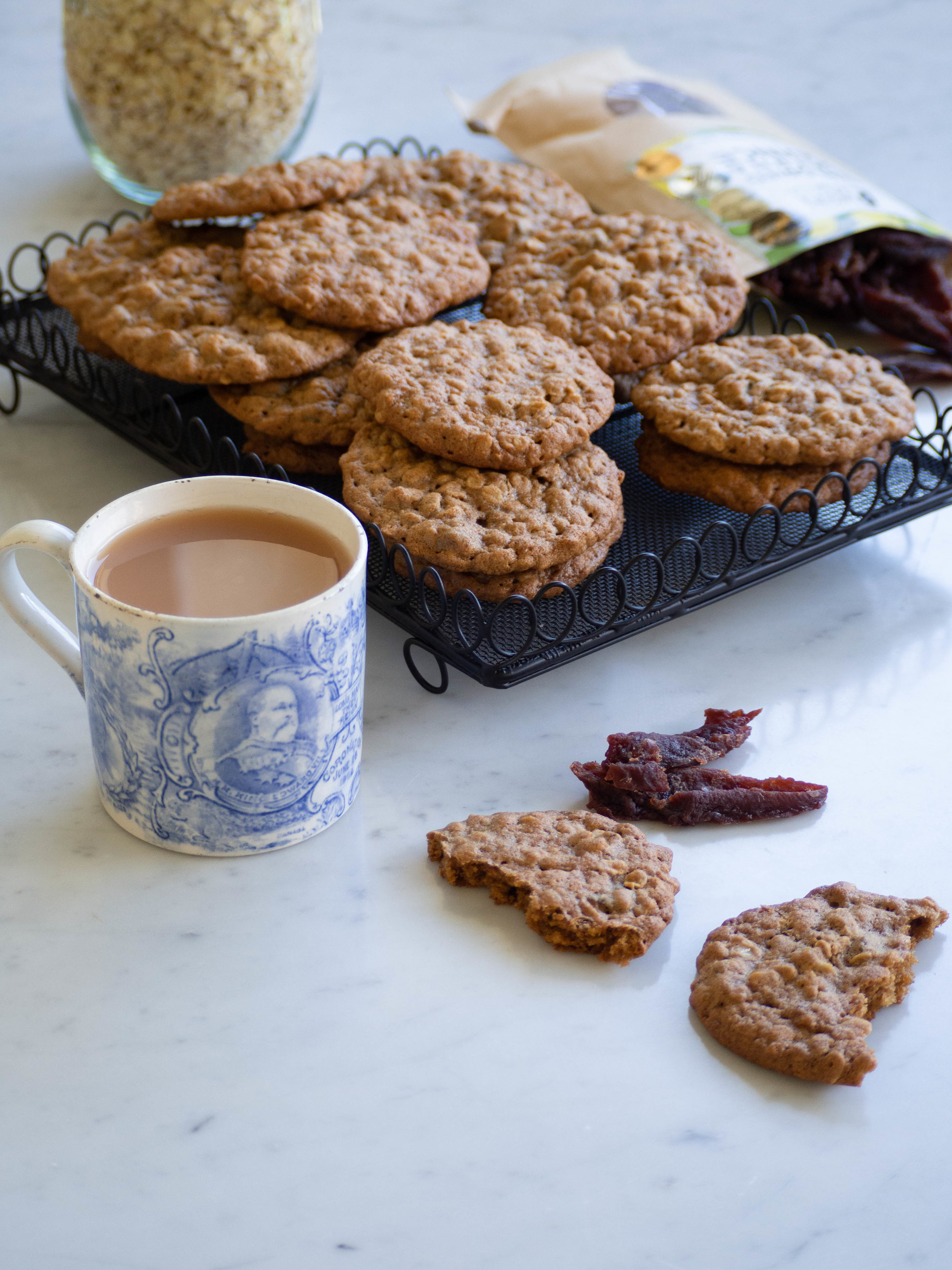 Quince and Almond Biscuits