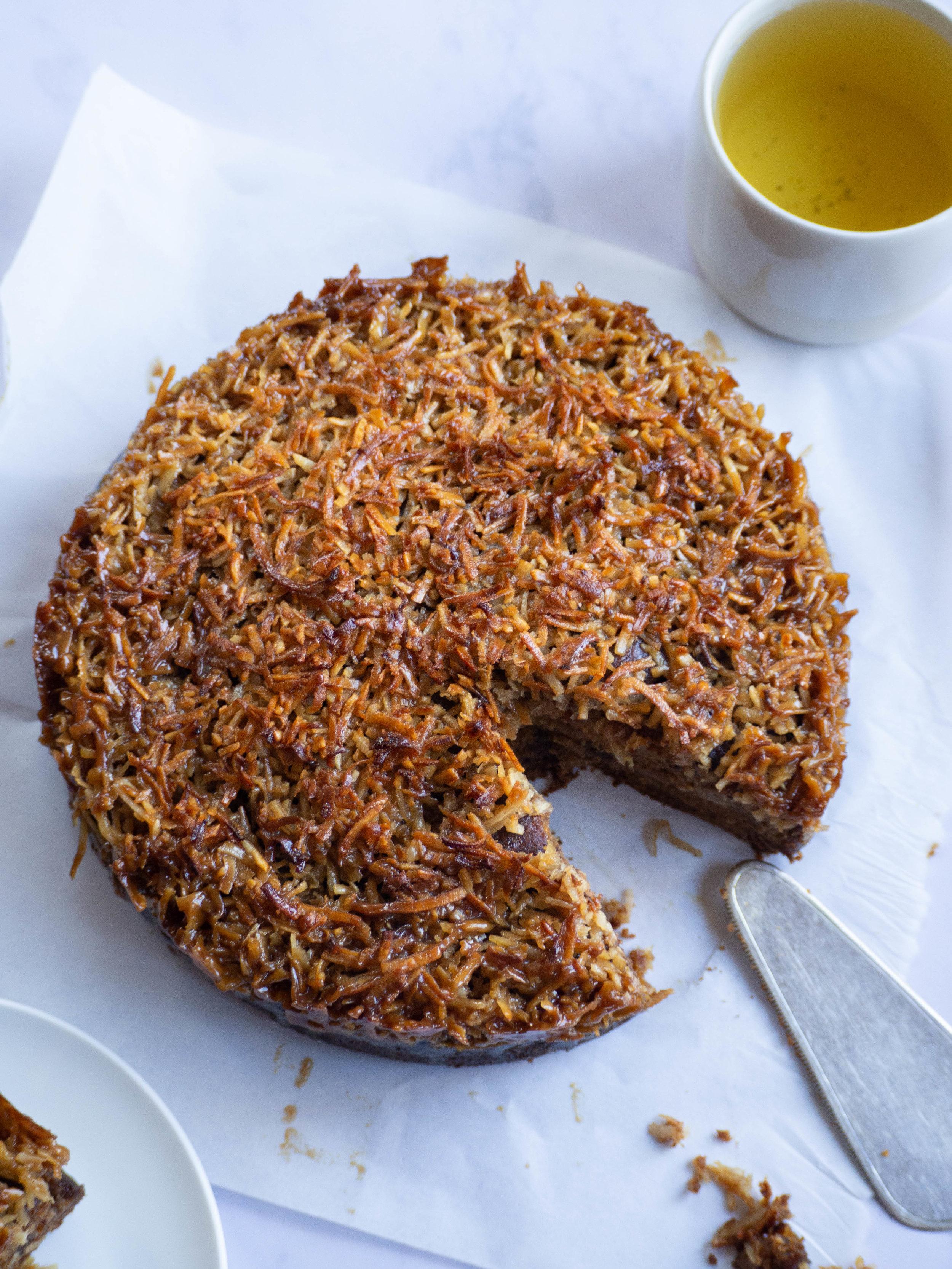 Lumberjack Cake (aka Queen Elizabeth Cake)