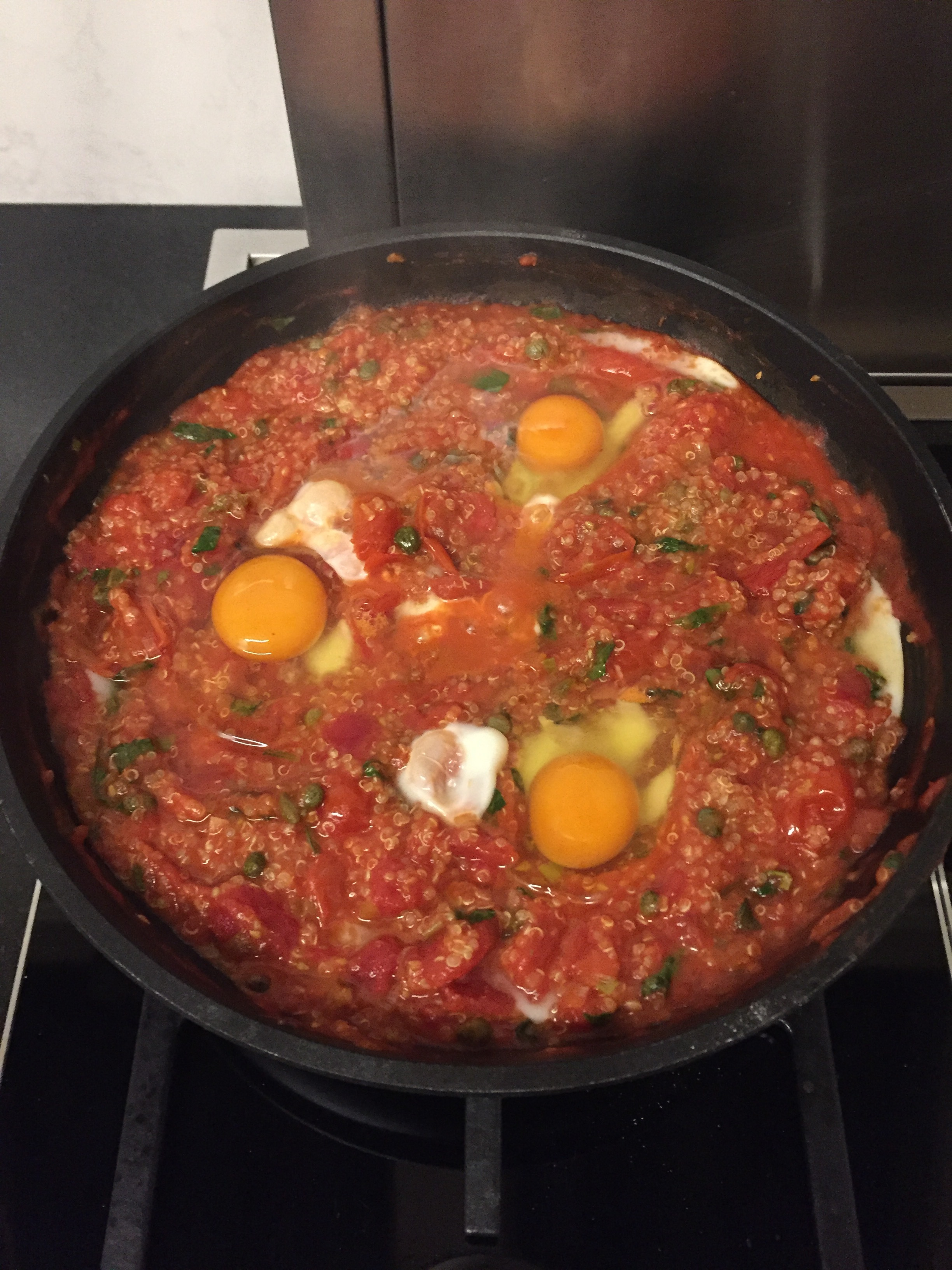 Shakshuka with Quinoa