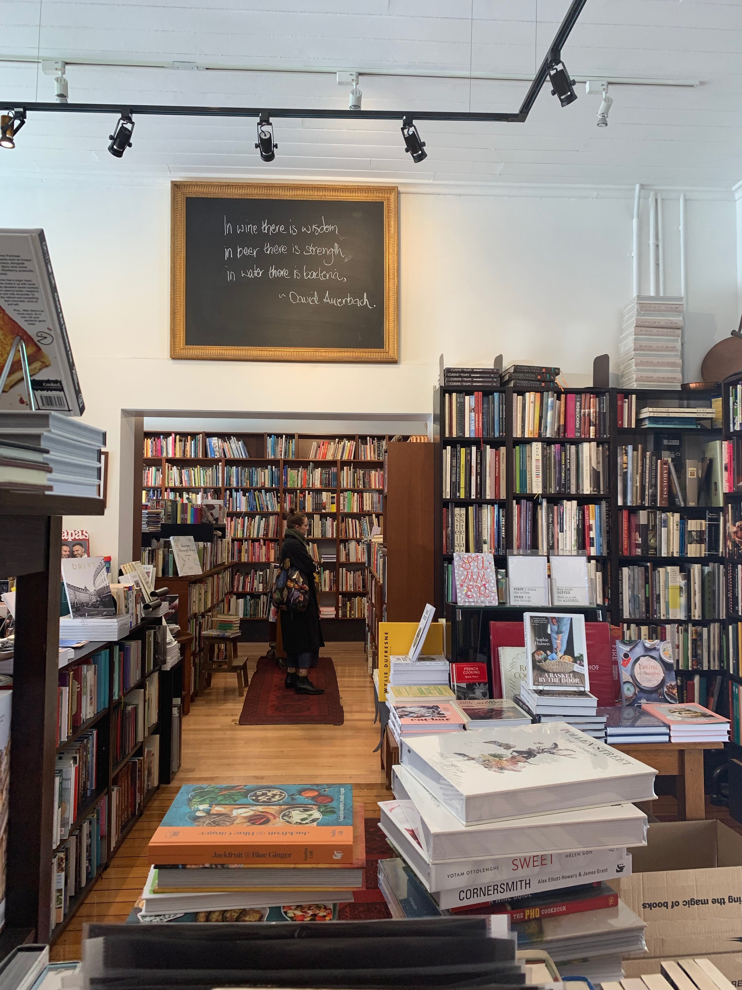Books for Cooks, Queen Victoria Markets