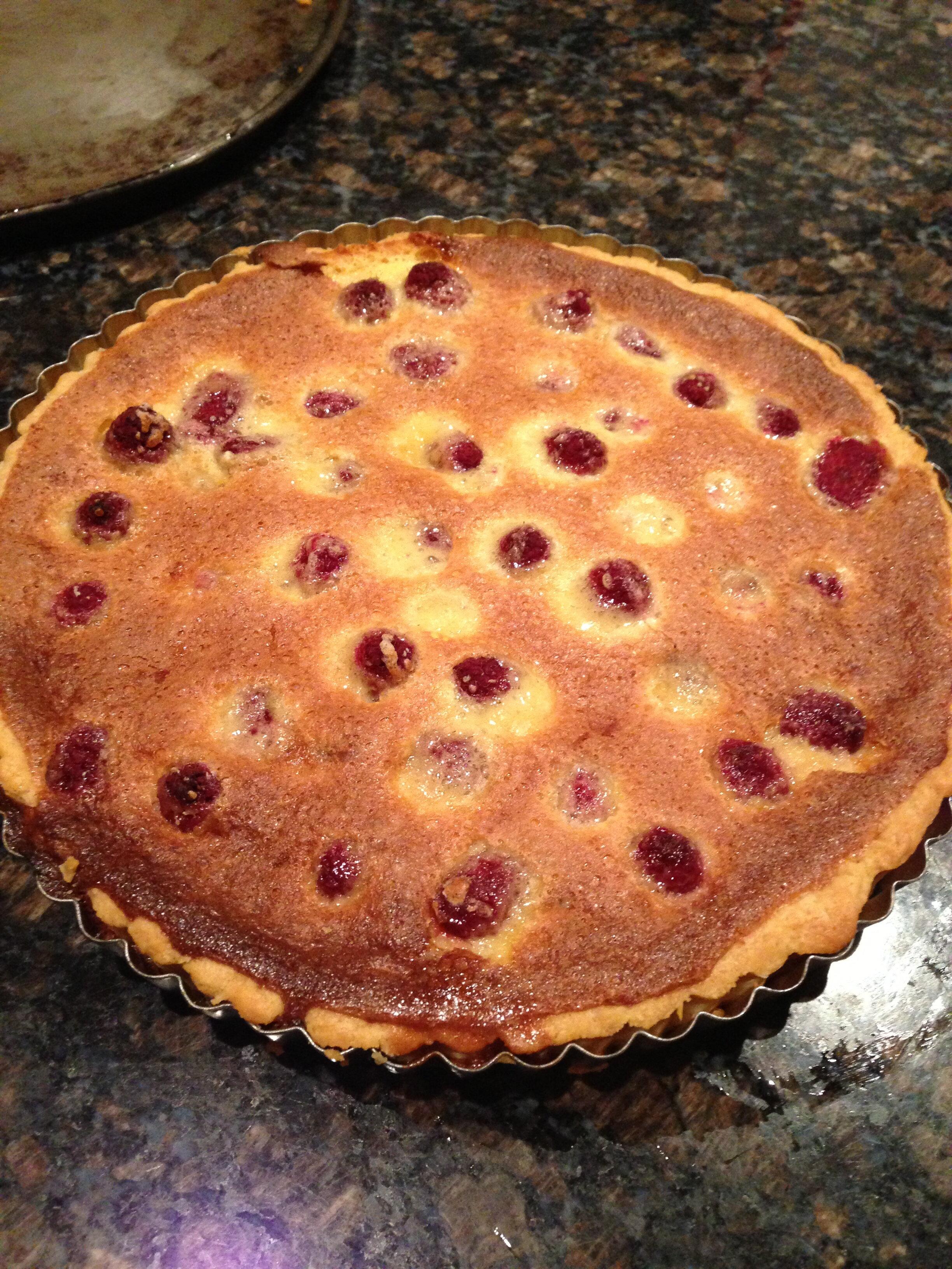 Talia's Raspberry Tart