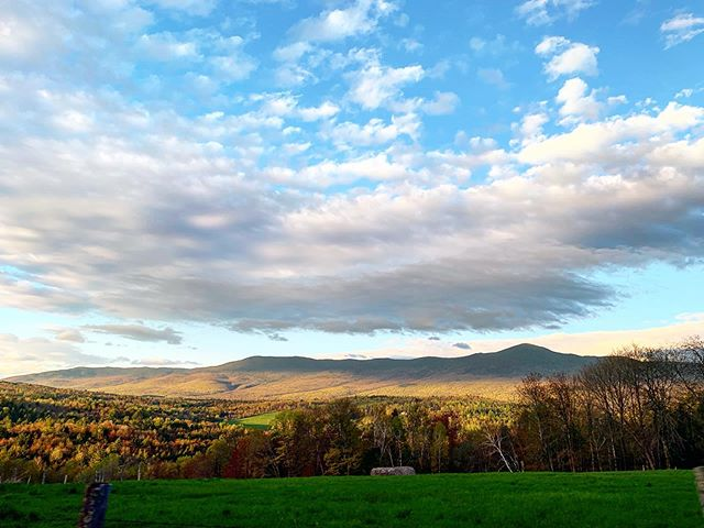 Spring is a great lesson in patience and flexibility. Here's to some dry, warm and sunny days in the hills of Vermont.