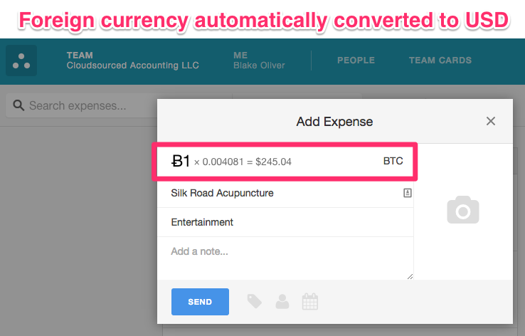 You may want to think twice before expensingall of your Bitcoin purchases.