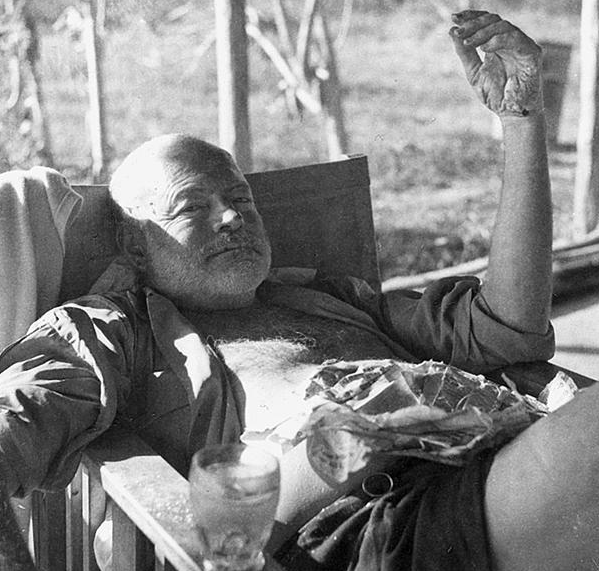 Ernest Hemingway wouldn't have been caught dead in a Starbucks.