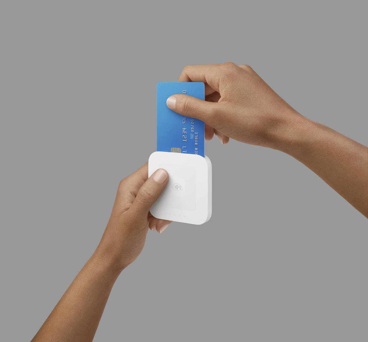 Square's upgraded EMV and NFC card reader