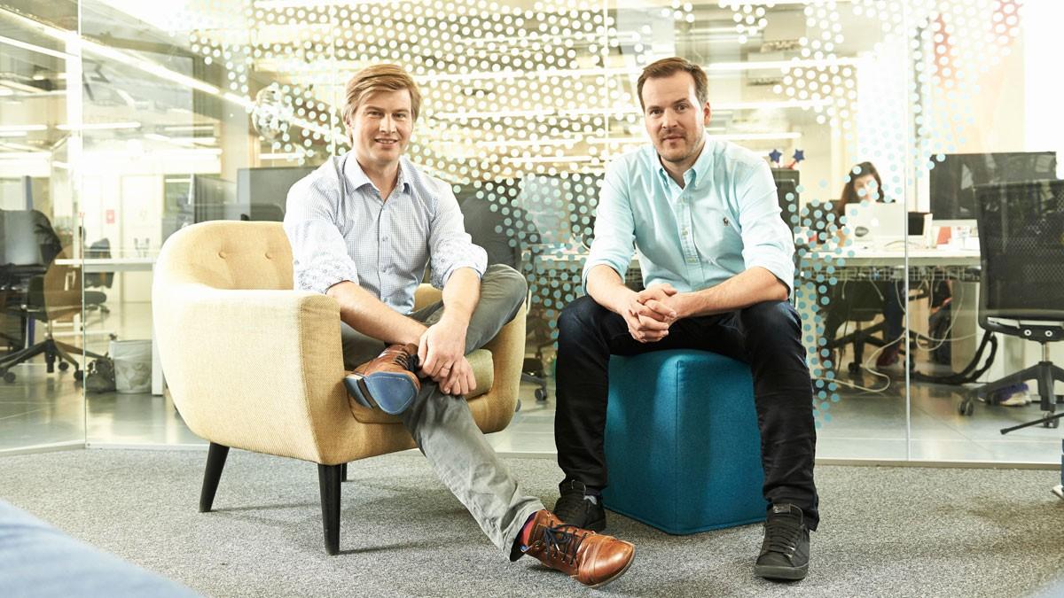 TransferWise  cofounders Kristo Käärmann and Taavet Hinrikus
