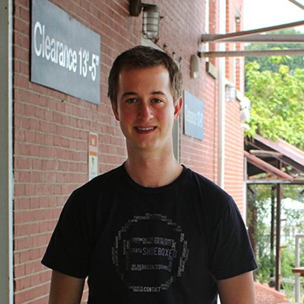 Shoeboxed founder Taylor Mingos