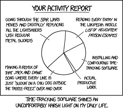 For more humor, visit  xkcd.com