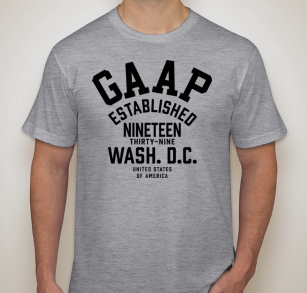 "Subscribe for a chance to win a free ""GAAP"" t-shirt."