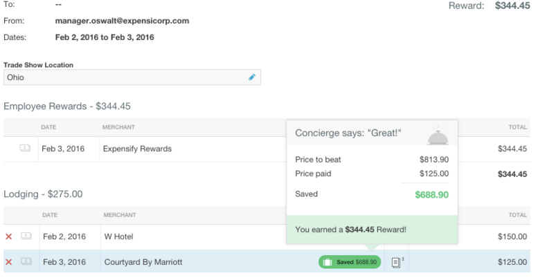 """Expensify's new """"Price to Beat"""" feature incentivizes employees to save on travel bookings."""