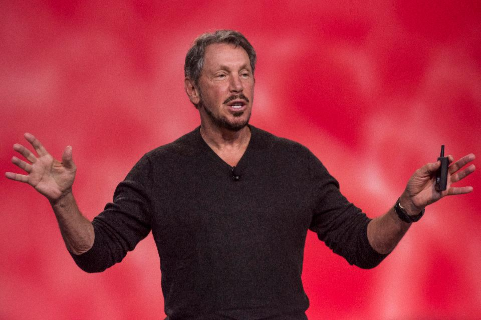 Larry Ellison, co-founder of Oracle and a major shareholder in NetSuite
