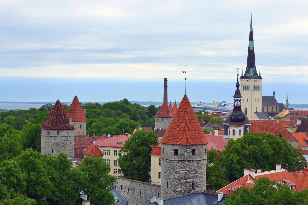 Tallinn, capital city of Estonia
