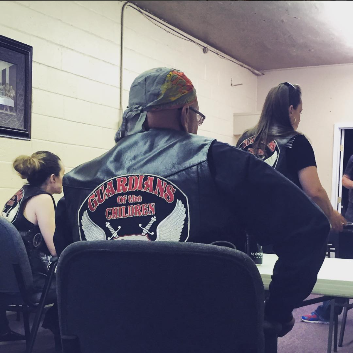 """Odessa, TX. Guardians of the Children is a non-profit group of bikers who advocate for child victims of all kinds of abuse in the Permian Basin. Compared to more highly populated areas of Texas, the Permian Basin has high rates of child abuse and neglect. In 2014 there were more than 2030 confirmed cases of child abuse ( and these are just the reported cases). All the GoC members and kids go by road names. When she was 12, """"Bugg"""" was brutally beaten by her father's girlfriend. Worse yet, her father didn't believe her when she told him. She receded into her shell, isolating from friends and family. After joining GoC, things changed. """"It made me feel like I had a sense of family again, like I wasn't so alone after all,"""" she said. She is now almost 18 and plans to become a Guardian herself once she comes of age. Full story here:  http://www.mrt.com/news/local/article_dd9799ae-fea2-11e5-aad7-53fe10f238e3.html?TNNoMobile  #SnapshotLives  #odessa  #midland  #texas  #childabuse  #guardiansofthechildren  #stopchildabusenow"""