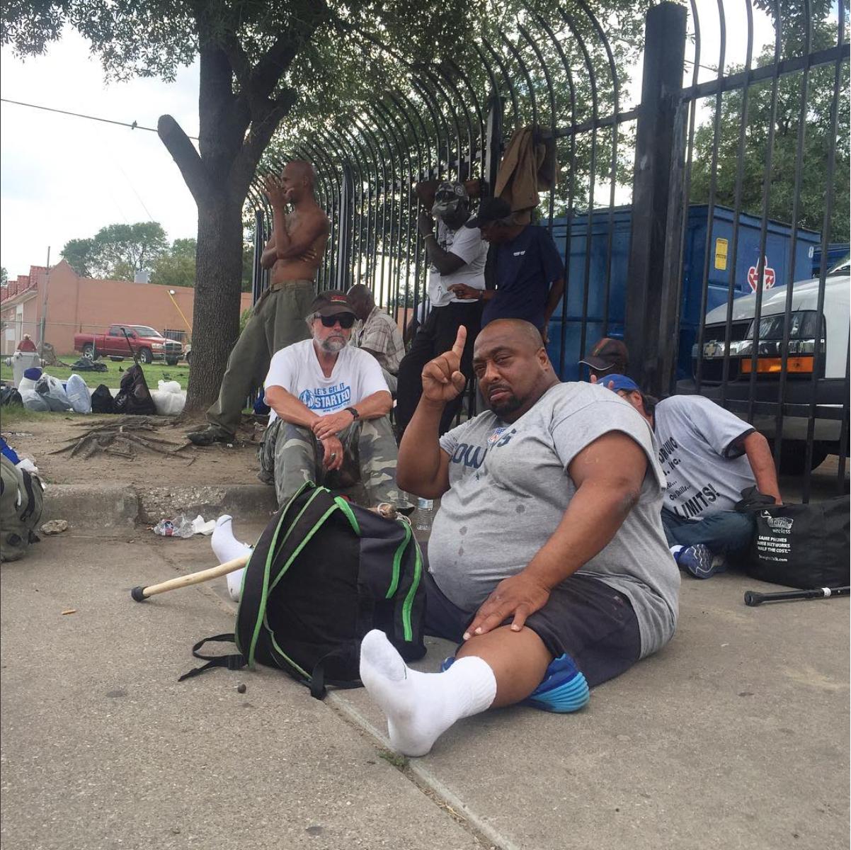 Dallas, TX. http://www.dallasobserver.com/news/inside-the-dallas-homeless-shelter-where-patrick-ward-died-8672712