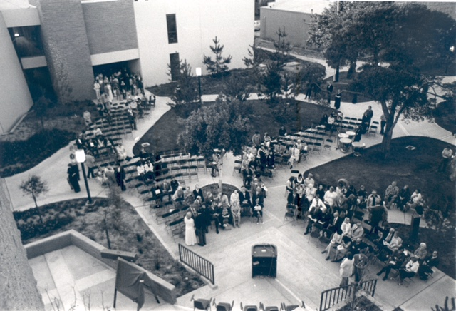 Moulton Hall Dedication Ceremony - 1975