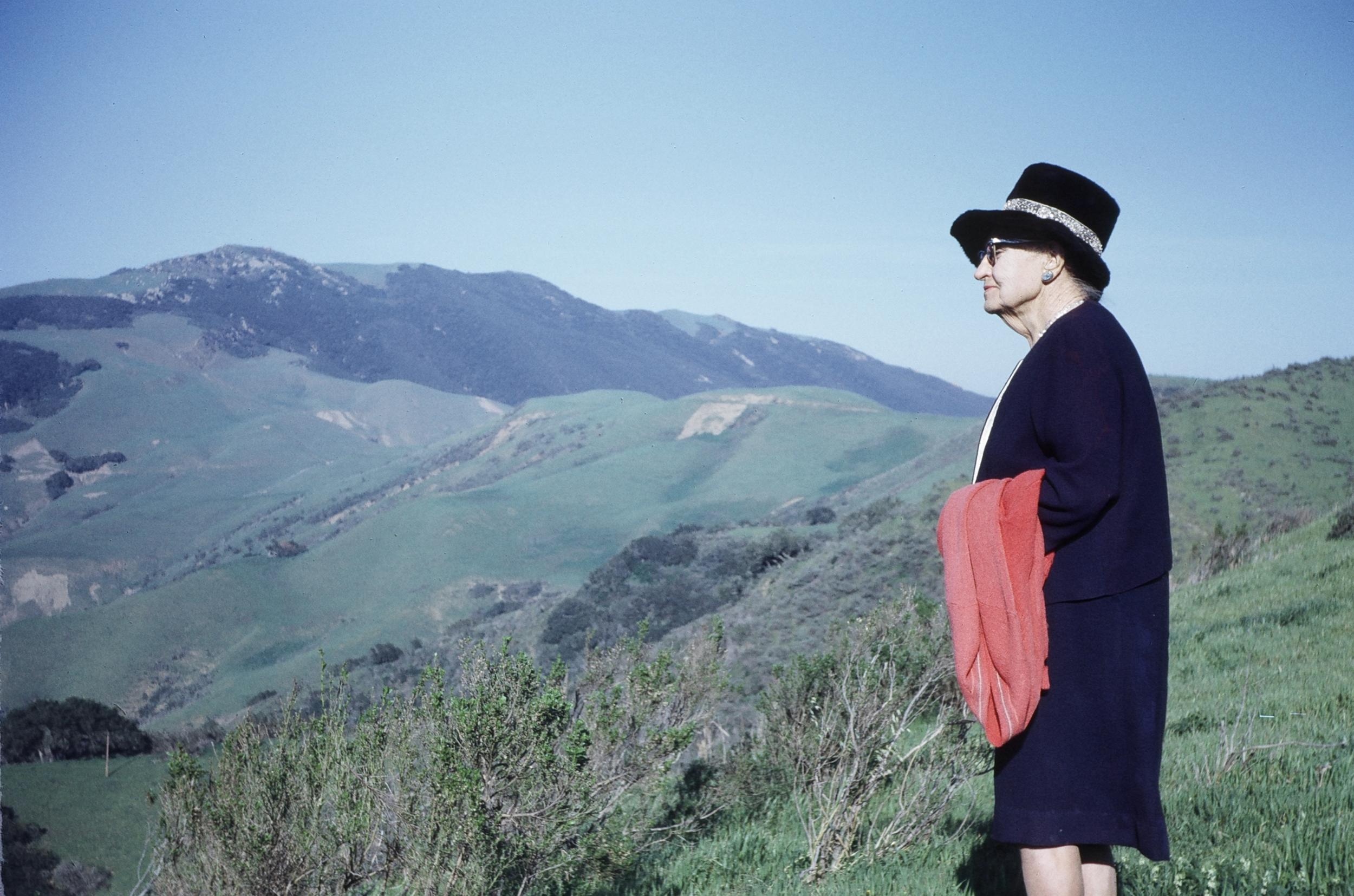 Nellie Gail Moulton on Hanson Ranch