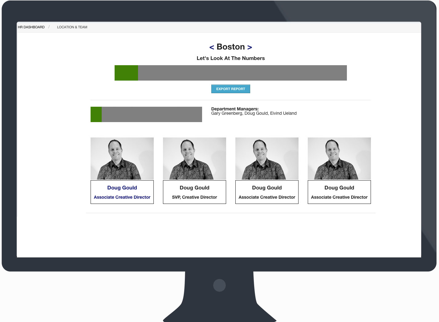 Create an employee performance management system to quicken