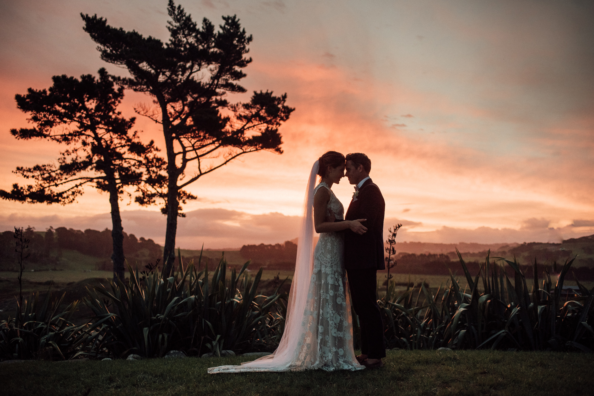 Wedding Photography sunset beach