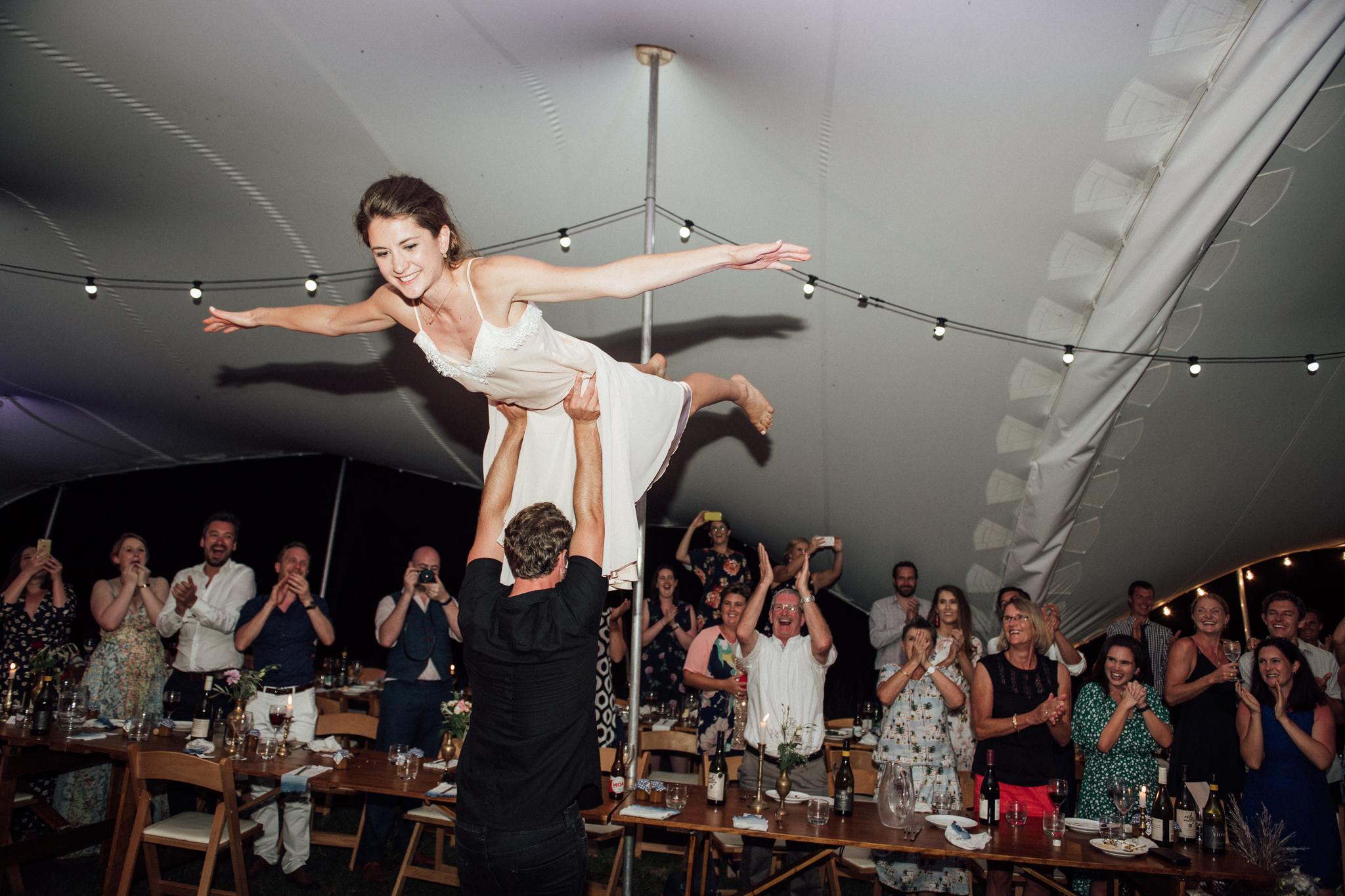 Wedding photography first dance Orua Beach House