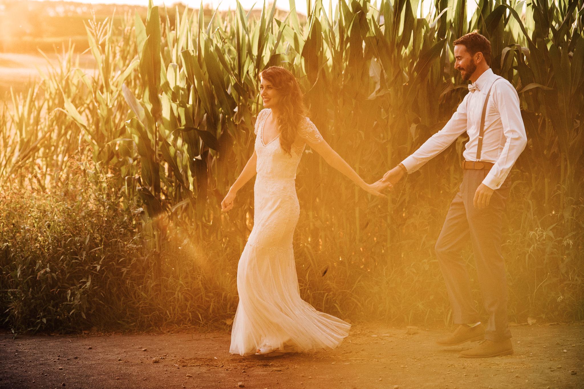 Wedding photography sunset narrows landing hamilton