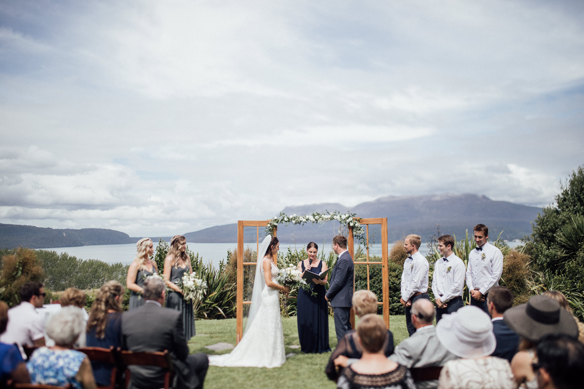 Wedding photography Rotorua The Black Barn