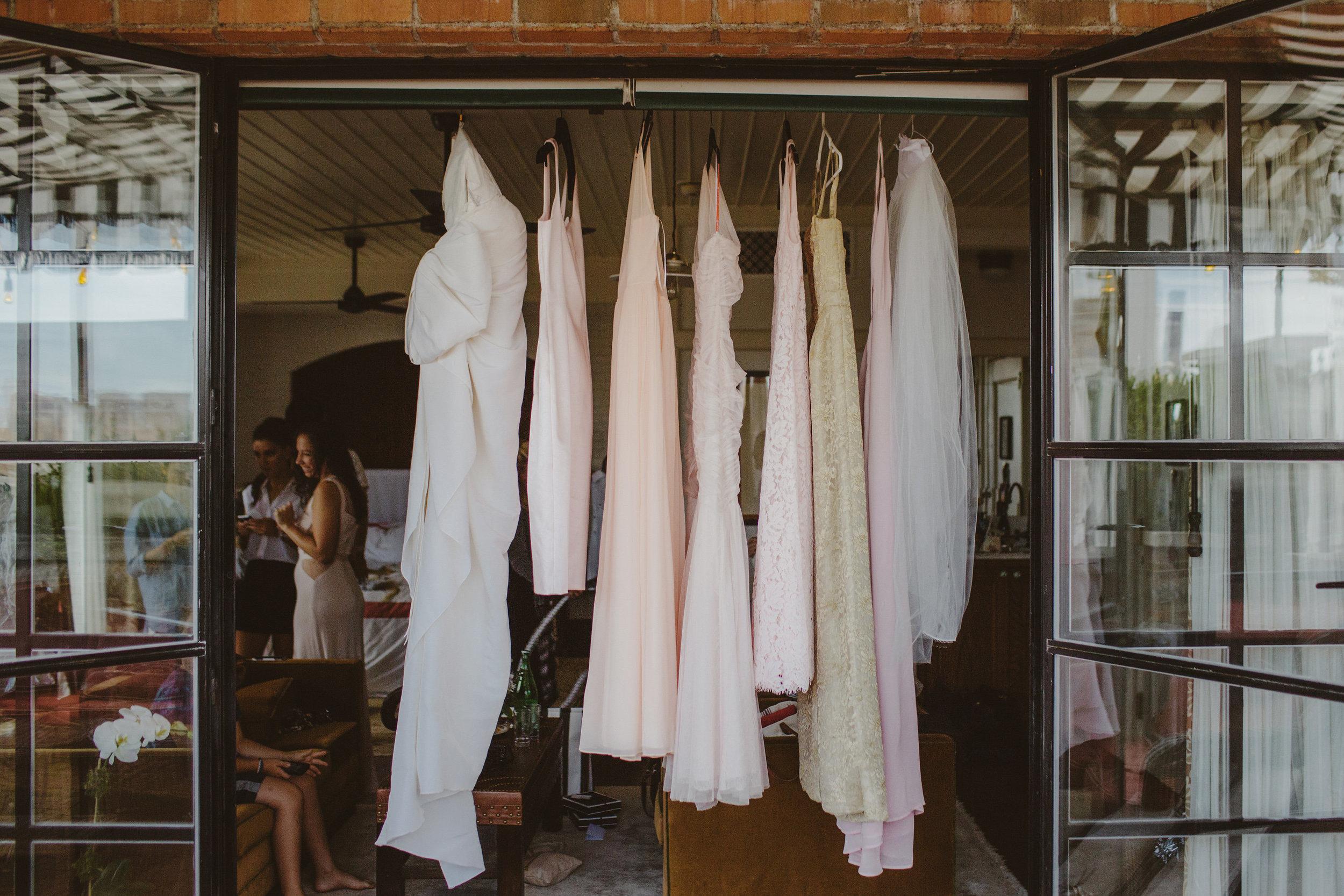 Hayley + Chris Wedding Cloths