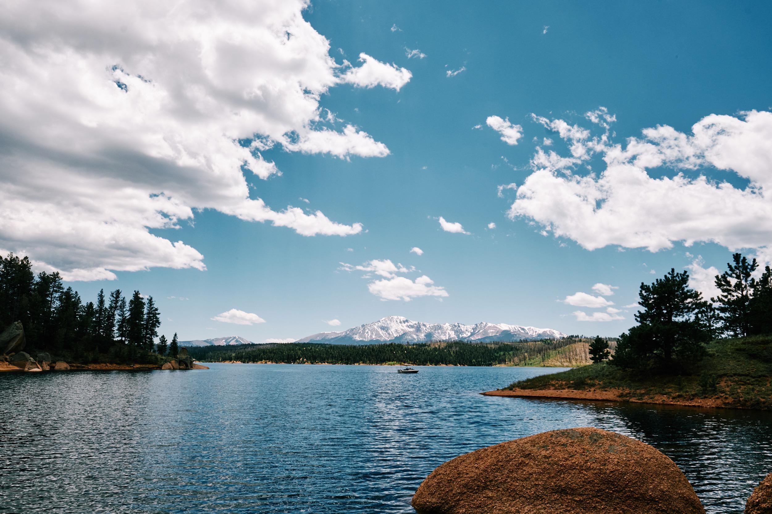 Rampart Recevoir Pikes Peak
