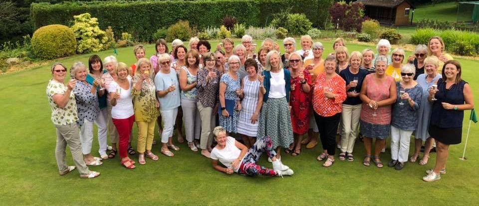 ladies away day at Newport golf club 2019