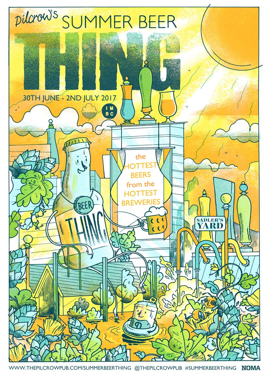 Summer Beer Thing artwork by   Luke Drozd