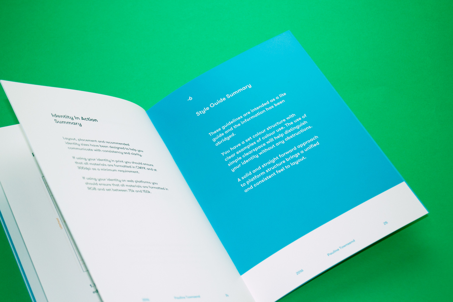 Defeye Creative - Style Guides