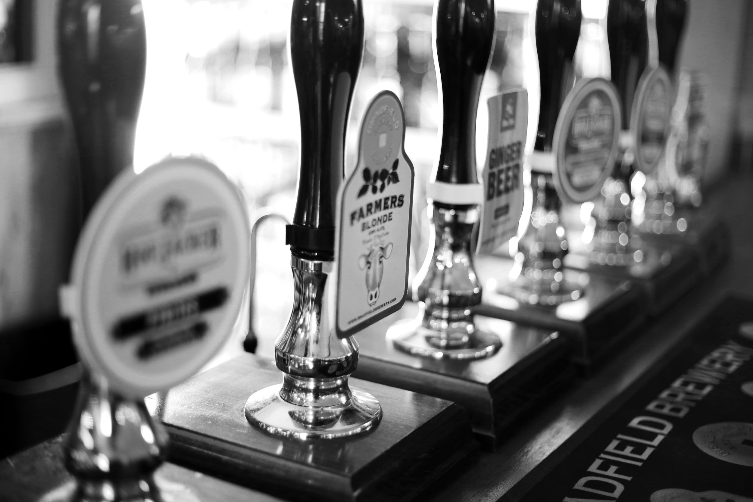 Dromfiled Arms Beer - Pump Clips