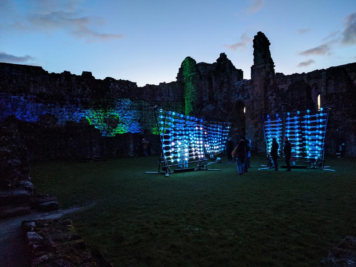 Rievaulx Abbey: Illumiphonium
