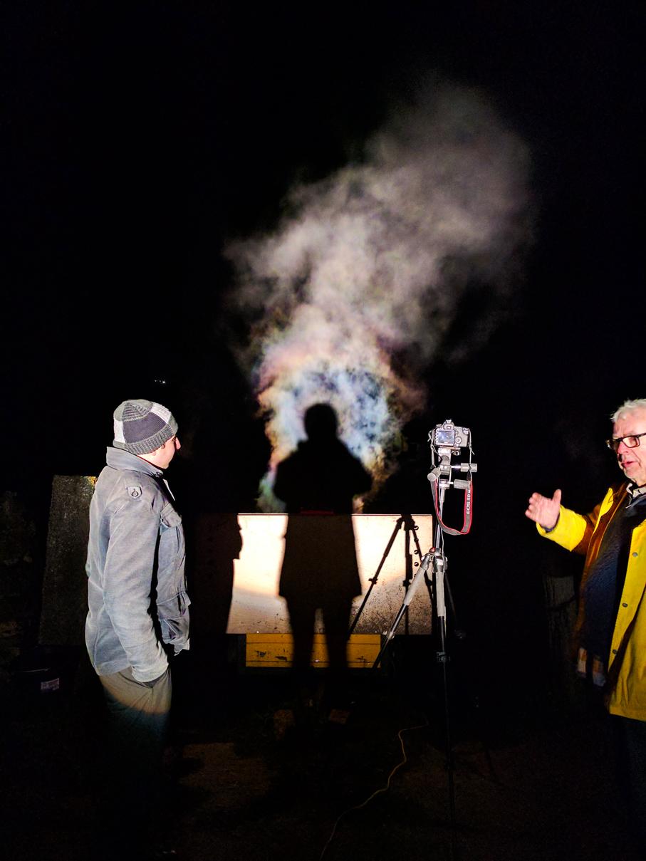 Brocken Spectre Test 1 (Steve & Charles)